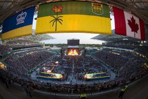 Guns N' Roses Concert 2017, Mosaic Stadium.