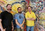 Left to Right - Kai Hutchence, Rene Dufour-Contreras and Aaron Hampton