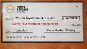 Cross Borders Cheque