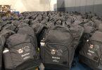 Backpack Giveaway, White Buffalo Youth Lodge - Saskatoon
