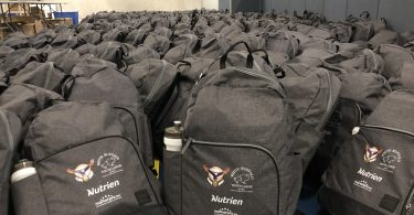 Backpack Giveaway, White Buffalo Youth Lodge - Saskatoon