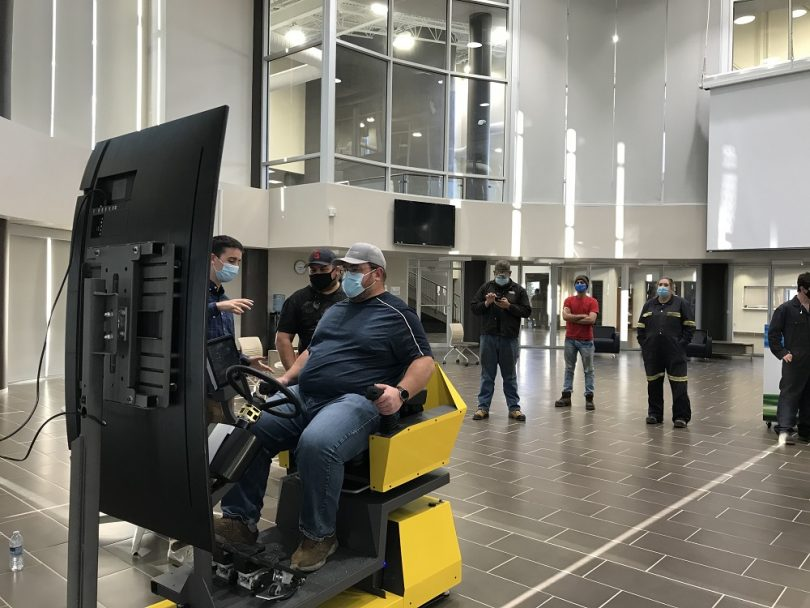 Southeast College Heavy Equipment Simulator