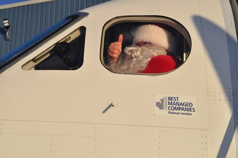 Santa in the North