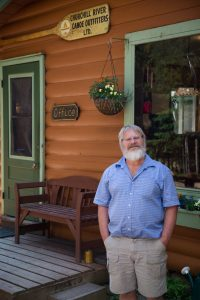 Ric Driediger, owner of Churchill River Canoe Outfitters