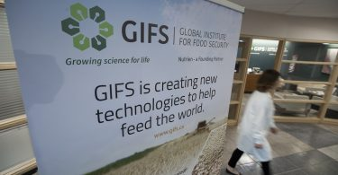 GIFS is creating new technologies to help feed the world. Photo by David Stobbe.