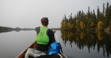 Canoeing in Northern Saskatchewan