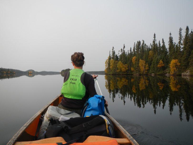 Canoeing in Northern Saskatchewan